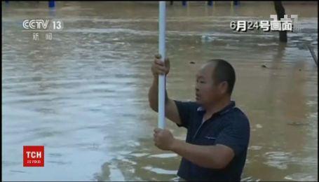 Разрушительные наводнения в Китае унесли жизни не менее 30 человек