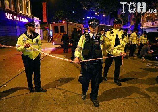 У Лондоні на акції проти жорстокості поліції постраждало шестеро правоохоронців