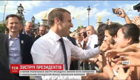 Президента Украины ждут в Елисейском дворце на встречу с Макрона
