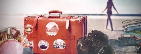 Як правильно зібрати валізу для відпустки на морі