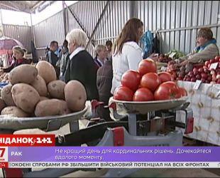 В Украине молодые овощи продают по рекордным ценам