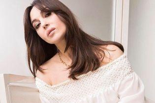 Красивая и женственная: Моника Беллуччи снялась в новой фотосессии для глянца