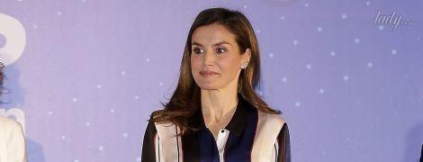 Как всегда, хороша: королева Летиция на церемонии в Мадриде
