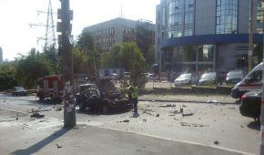 Під час вибуху авто у Києві загинув військовий - поліція