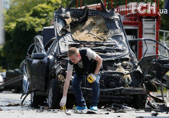 Подробиці підриву полковника ГУР у Києві: вибухівку могли закласти в авто на СТО