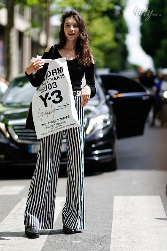 принт полоска, уличная мода_6
