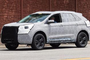 Ford готовится вывести на рынок обновленный вседорожник Edge