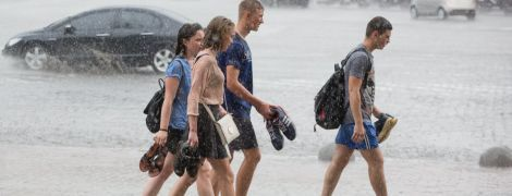 Украина попала в плен дождей и существенного похолодания. Прогноз погоды на 22 августа