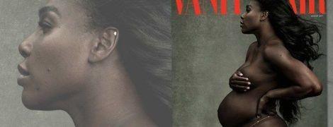 Легендарна Серена Вільямс знялася оголеною на сьомому місяці вагітності
