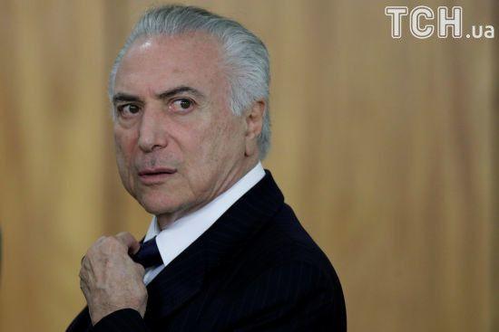Багатомільйонне хабарництво: в Бразилії генпрокурор звинуватив президента в корупції