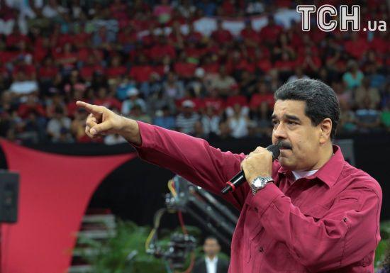 Поліцейський, який атакував на вертольоті венесуельський суд, зажадав відставки Мадуро