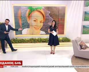 Ведущие Сниданка поздравили свою коллегу Марину Леночук с днем рождения