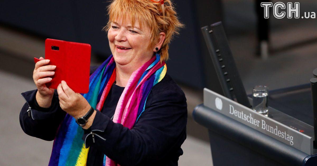 Депутат социал-демократической партии Германии Метхільд Раверт