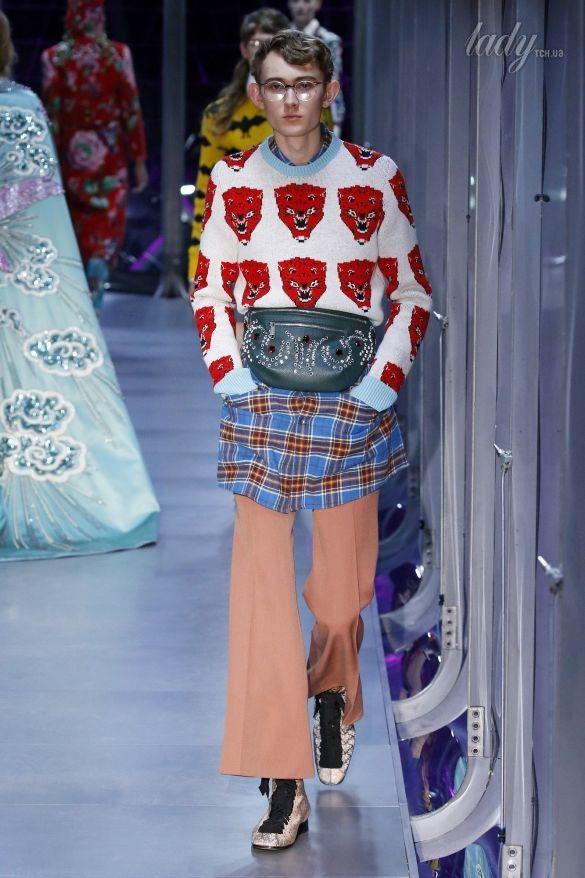 Коллекция Gucci прет-а-порте сезона осень-зима 2017-2018_50
