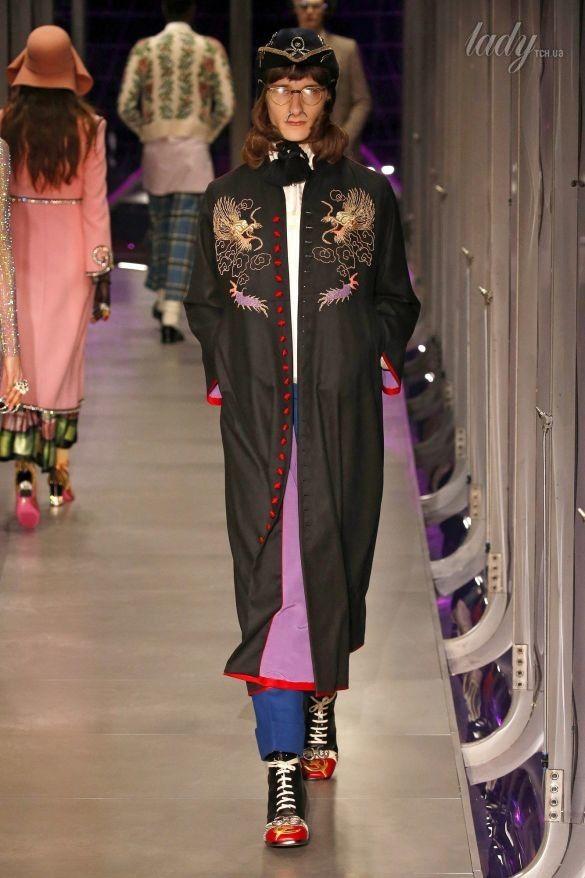 Коллекция Gucci прет-а-порте сезона осень-зима 2017-2018_27
