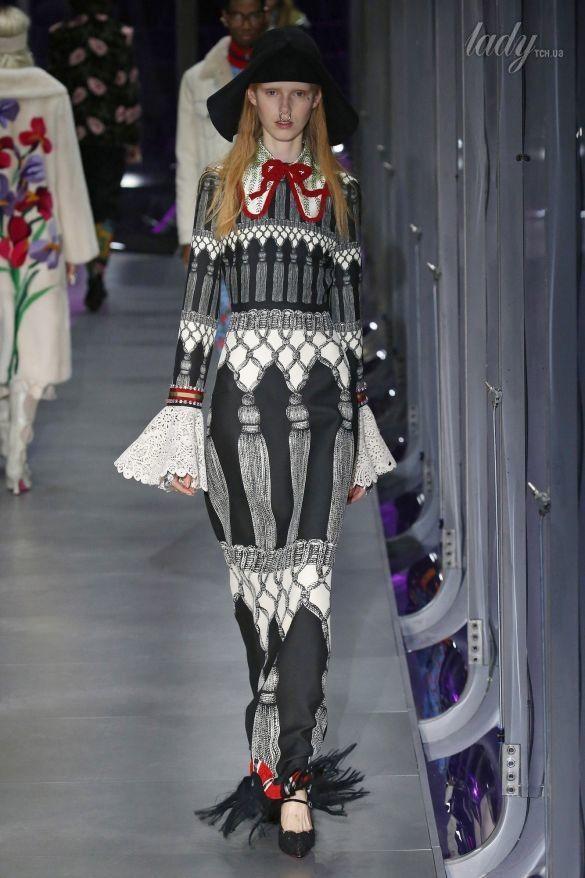 Коллекция Gucci прет-а-порте сезона осень-зима 2017-2018_40