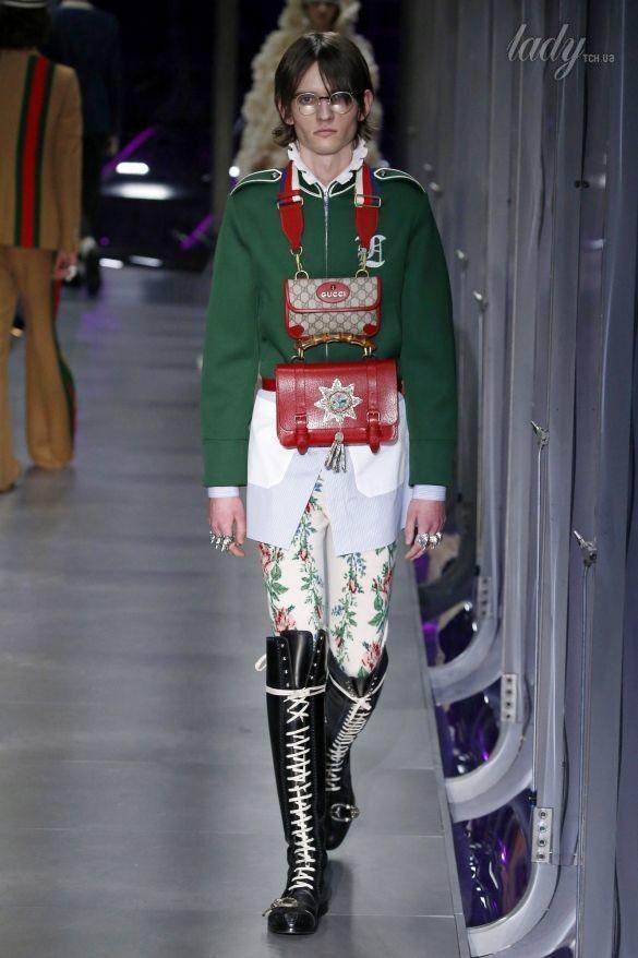 Коллекция Gucci прет-а-порте сезона осень-зима 2017-2018_57