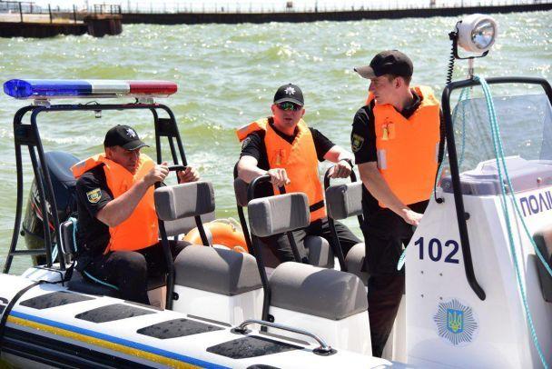 Поліція Донеччини патрулюватиме на катері на Азовському морі