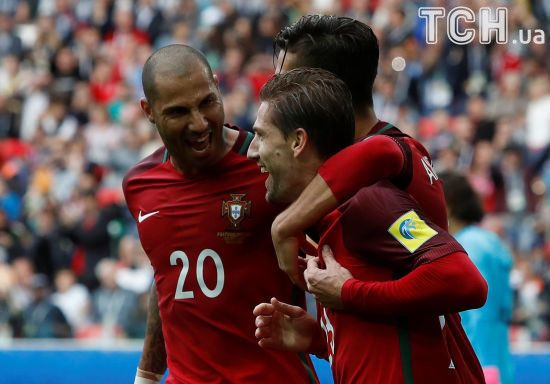 """Португалія здолала Мексику і отримала """"бронзу"""" Кубка конфедерацій-2017"""
