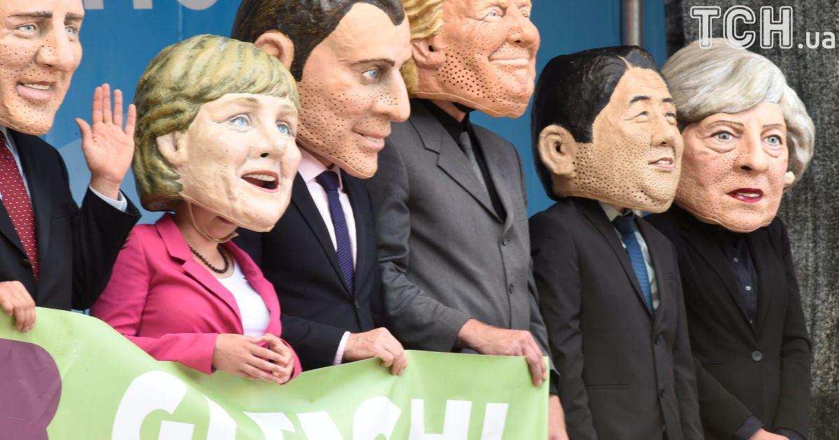 © Reuters Під час проведення саміту 7-8 липня очікують на провокації