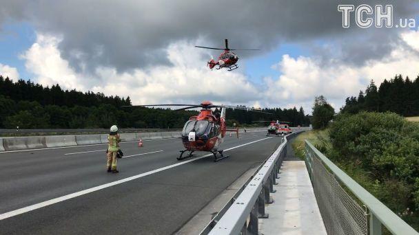 Милиция  Баварии: ВДТП наюге Германии погибли 17 человек