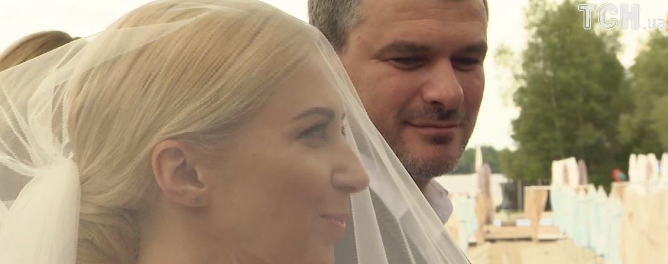 Як Матвієнко та Мірзоян весілля гуляли: відео з романтичної церемонії одруження пари. Ексклюзив ТСН