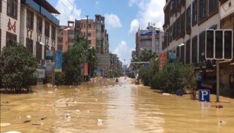 Китай подсчитывает убытки непрерывного ливня, который длился больше недели