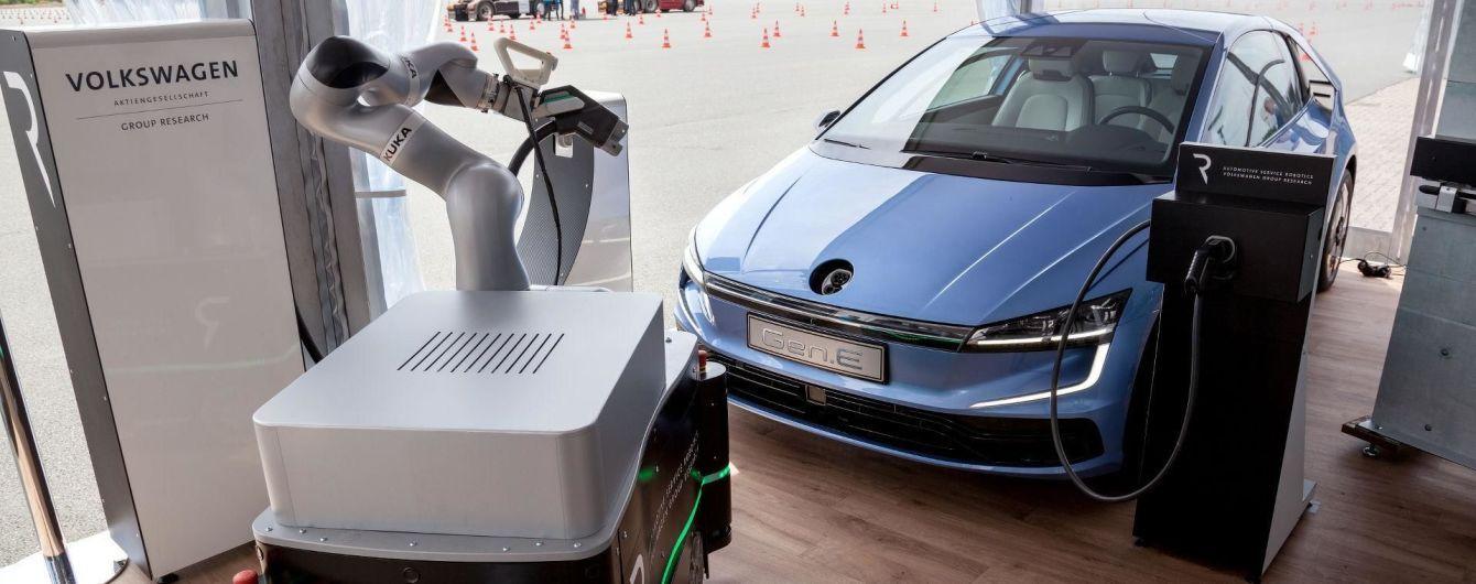 Volkswagen представил электрический хэтчбек Gen.E