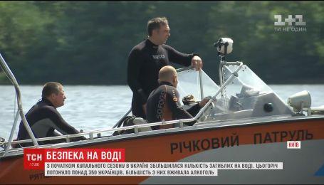 З початком купального сезону в Україні збільшилася кількість загиблих на воді