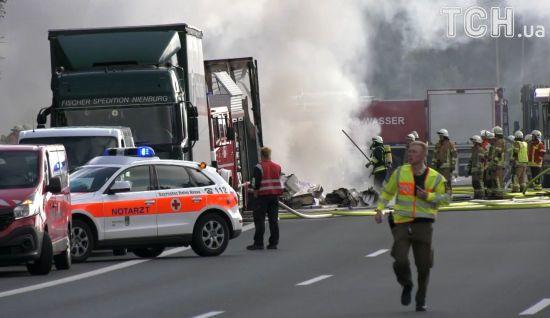 МЗС: українців немає серед потерпілих унаслідок в аварії автобуса в Баварії
