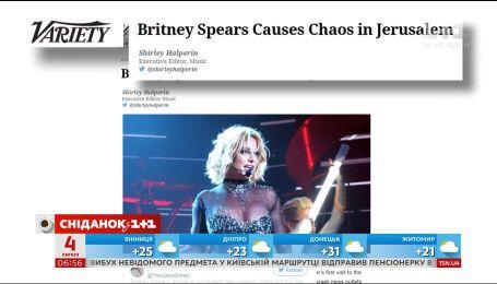 Бритни Спирс завершает мировое турне выступлением в Тель-Авиве
