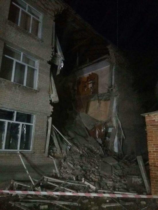 На Миколаївщині обвалилась школа