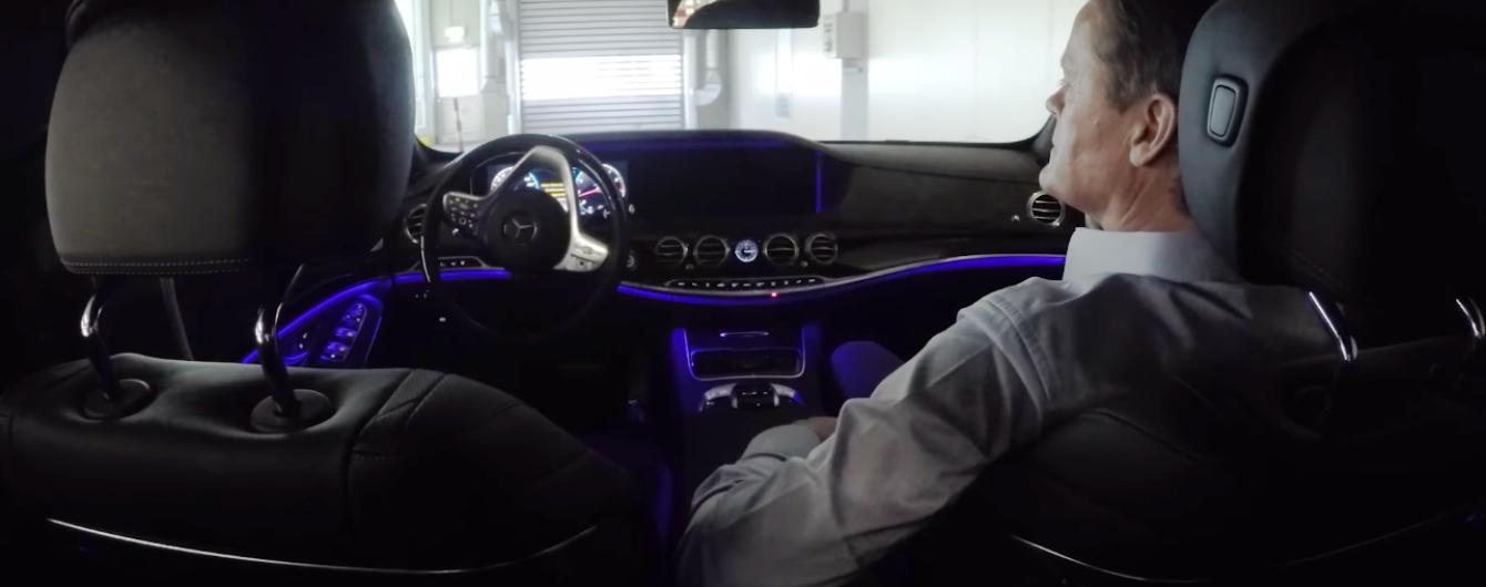 Обновленный Mercedes-Benz S-Class может самостоятельно выезжать с завода