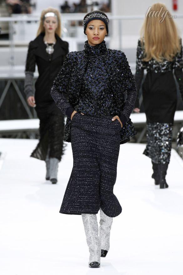 Коллекция Chanel прет-а-порте сезона осень-зима 2017-2018_90