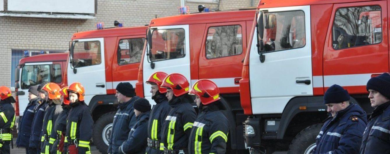 На Харківщині сталася пожежа на нафтобазі