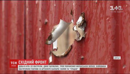 На фронте двое украинских воинов погибли, трое - получили ранения