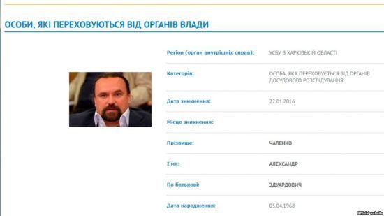 СБУ оголосила в розшук журналіста Чаленка, який працює у росЗМІ