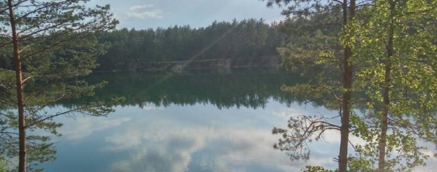 Село Олешня, Голубі озера_01