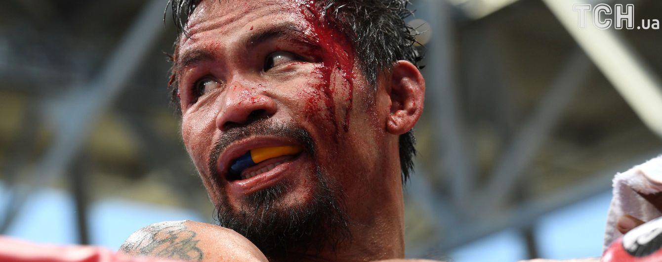 Легендарний філіппінець Пакьяо задумався про завершення боксерської кар'єри