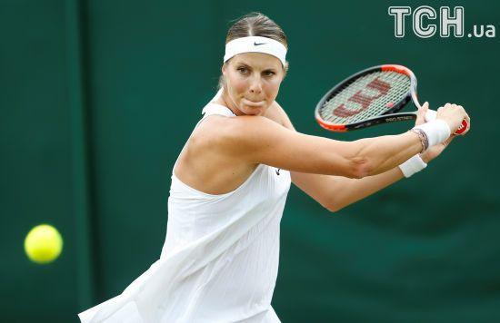 Тенісистка на п'ятому місяці вагітності зіграла на Wimbledon