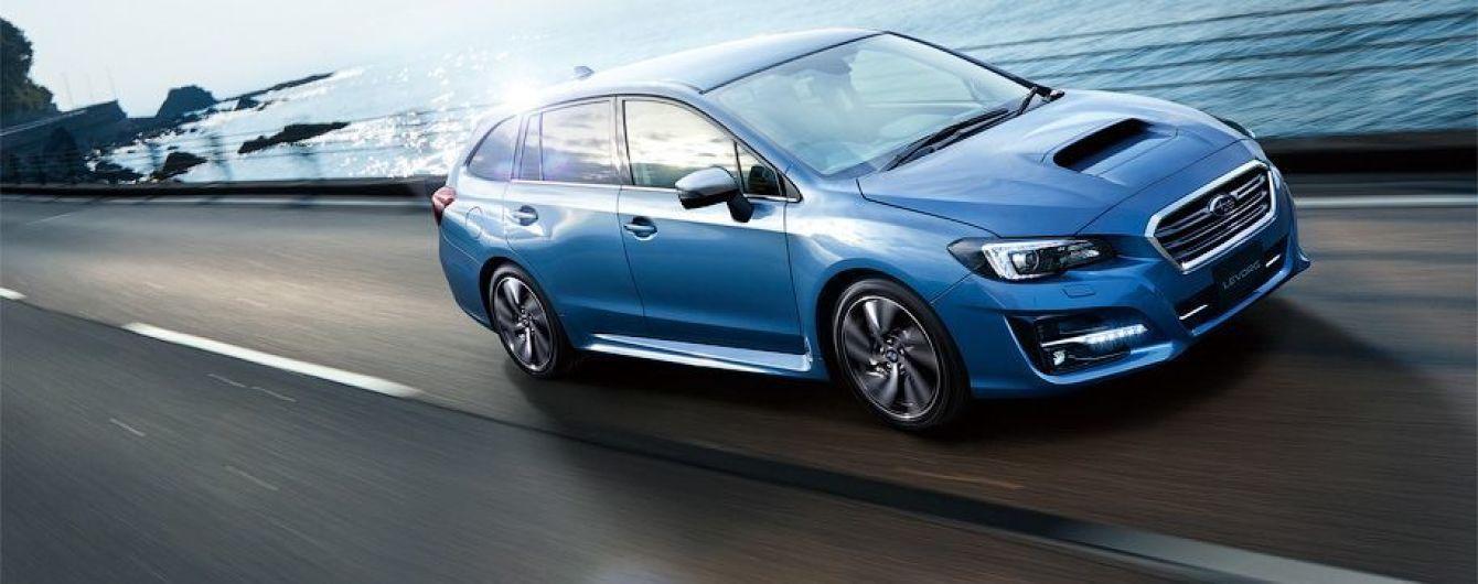Subaru представила обновленный универсал Levorg для Японии