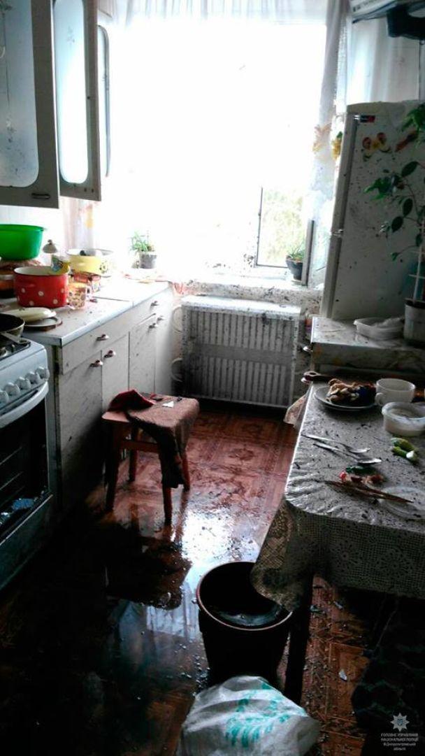 В Днепре в многоэтажке взорвалась граната