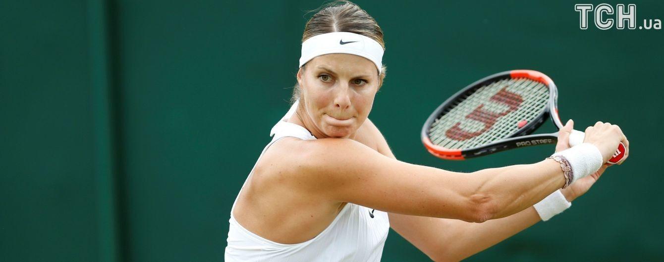 Теннисистка на пятом месяце беременности сыграла на Wimbledon