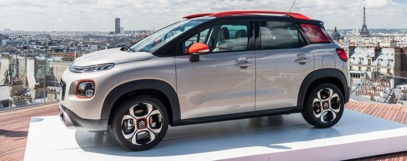 Citroen объявил цены на новый C3 Aircross для французского рынка
