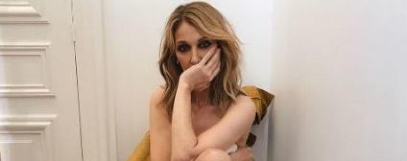Смелая Селин Дион позировала для Vogue полностью без одежды
