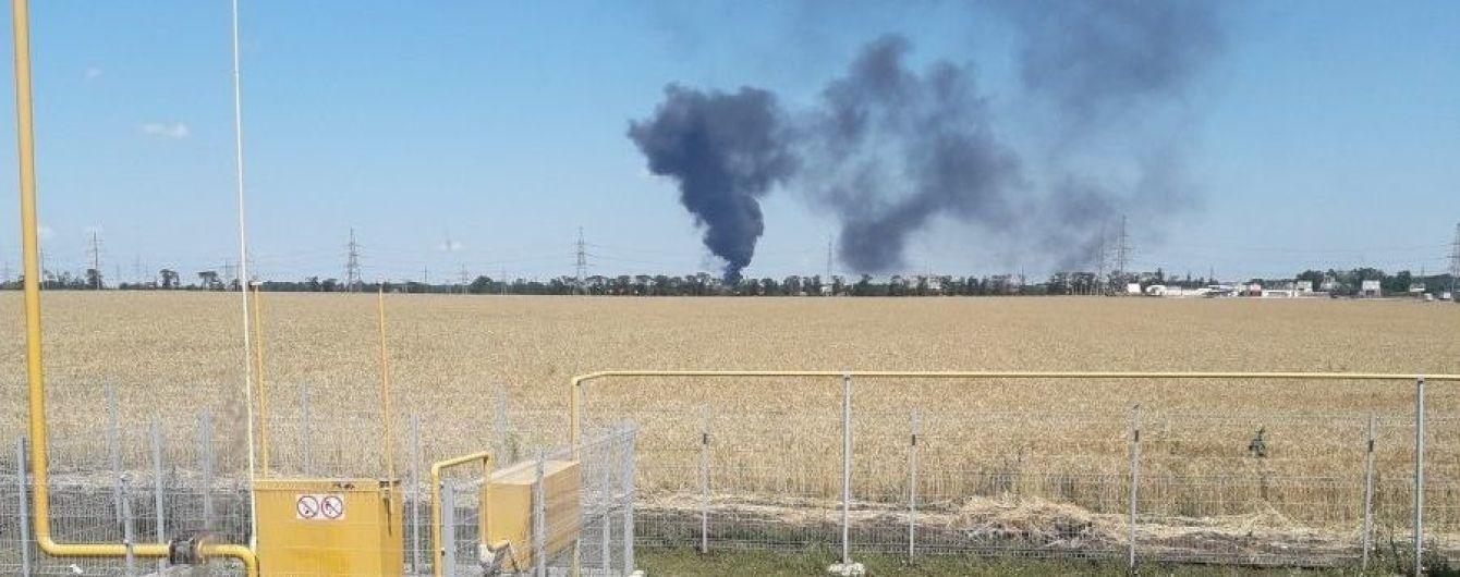 Під Одесою на нафтобазі прогримів вибух, постраждала людина