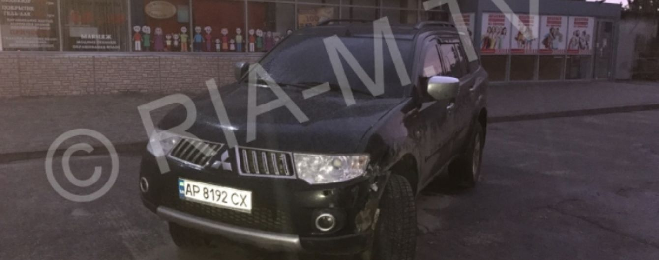 На Запорожье пьяный депутат устроил аварию и сбежал
