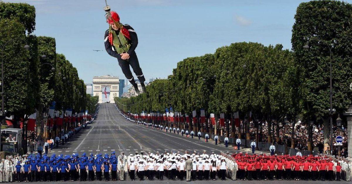 Фотожабы на Макрона. @ twitter/Emmanuel Macron