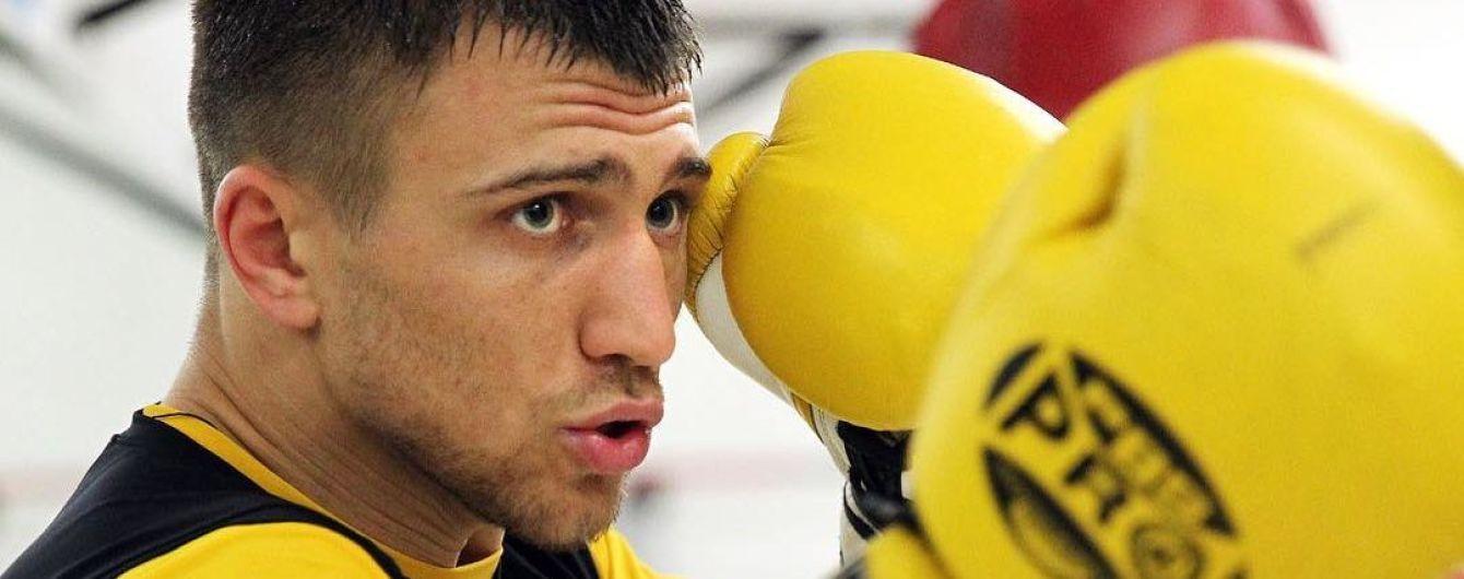 Ломаченко провел боксерскую разминку на скейте