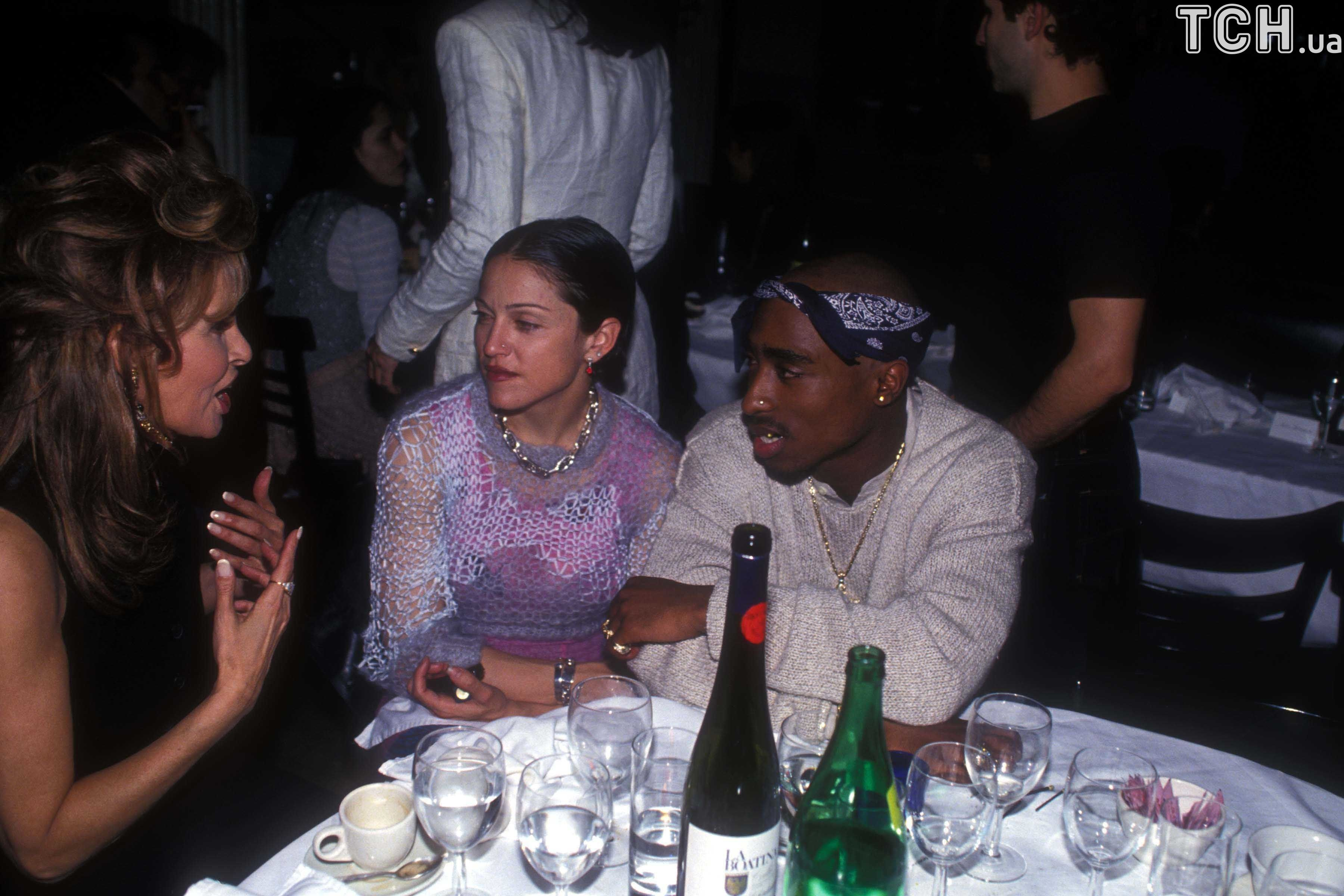 Мадонна і Тупак Шакур